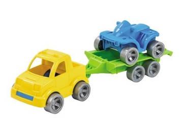 """Набір авто """"Kid cars Sport"""" 3 їв.(пікап+квадроцикл) №39543/Wader/"""