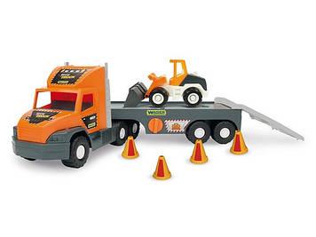 """Вантажівка """"Super Tech truck"""" з бульдозером №36720"""