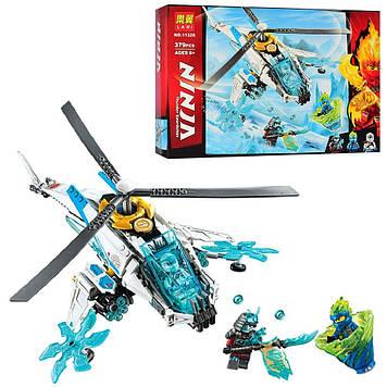 """Конструктор """"Ninja"""",вертоліт,фігурки,379дет.,в кор-ці,39,5х27х6см  №11328(24)"""