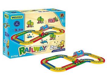 """Залізниця """"Kid Cars"""" в кор-ці, 3,1м №51701/Тигрес/"""