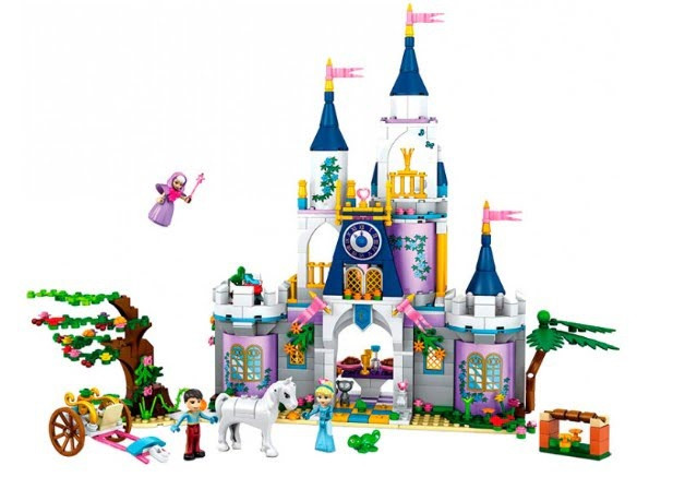 "Конструктор ""JVToy"" ""Палац для Попелюшки"",серія Принцеси,667дет.№15005"