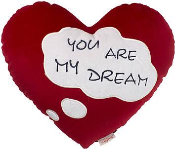 """М`яка ігр. """"Валентинка-подушка"""" Ти моя мрія №ПД-0269"""