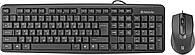 Клавіатура+мишка Defender Dacota C-270 RU USB