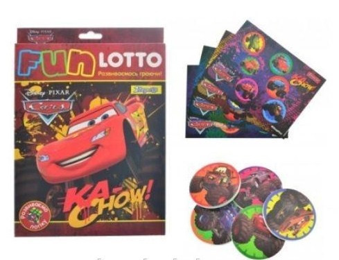"Гра наст. ""1В"" Funny loto"" Cars bigfoot"" №953693"