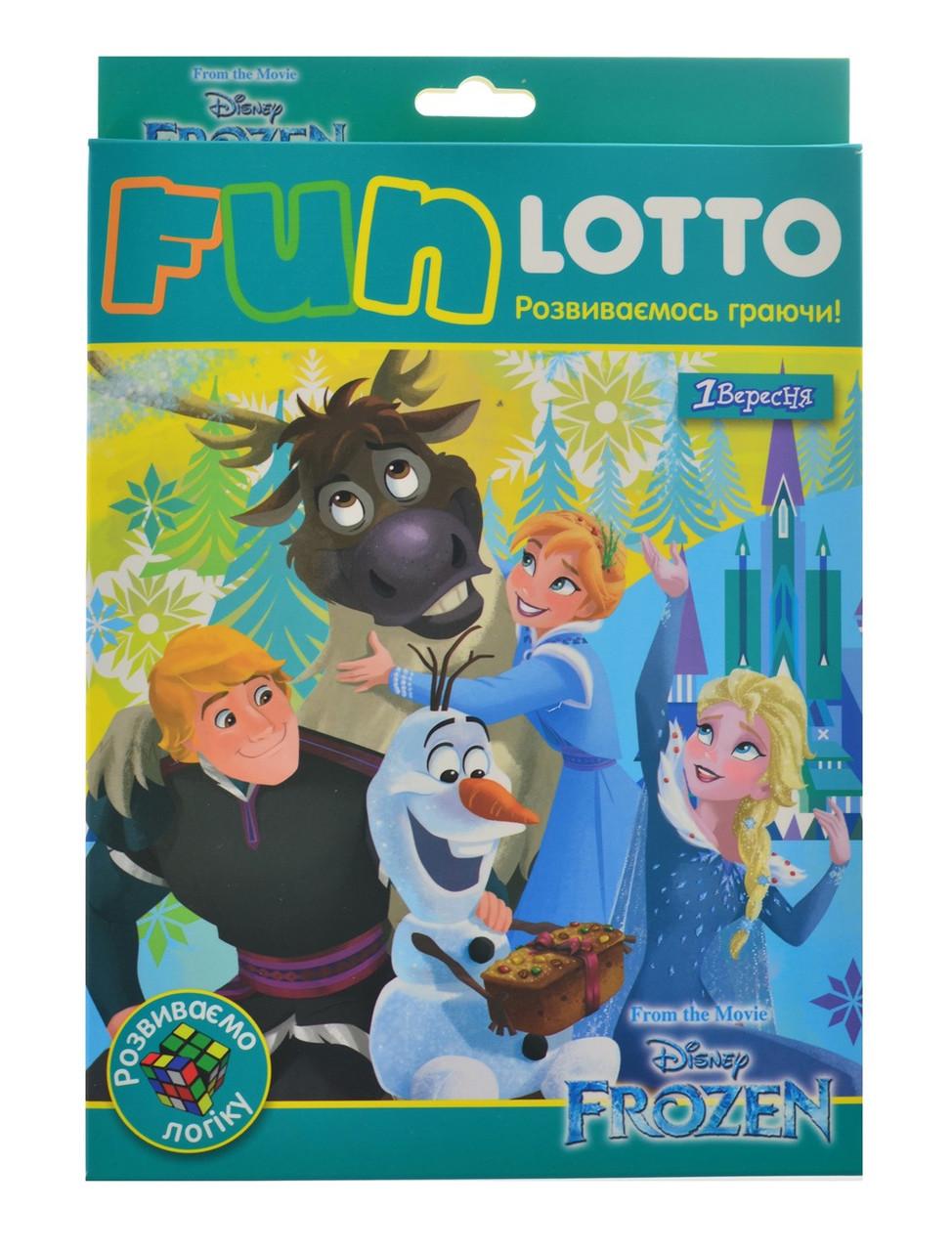 "Гра наст. ""1В"" Funny loto"" Frozen"" №953676"