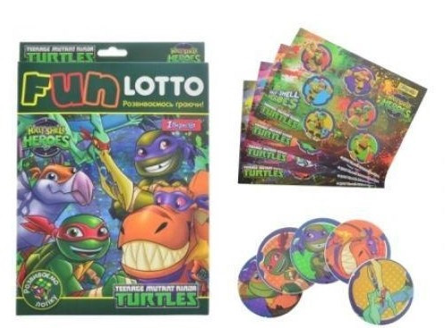 "Гра наст. ""1В"" Funny loto"" TMNT Dino"" №953695"