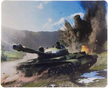 """Килимок тканинний прорез. """"World of tanks"""" 220х177х2мм"""