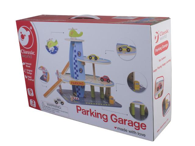 Набір дерев'яний ігровий Мій гараж №4170 Classic World