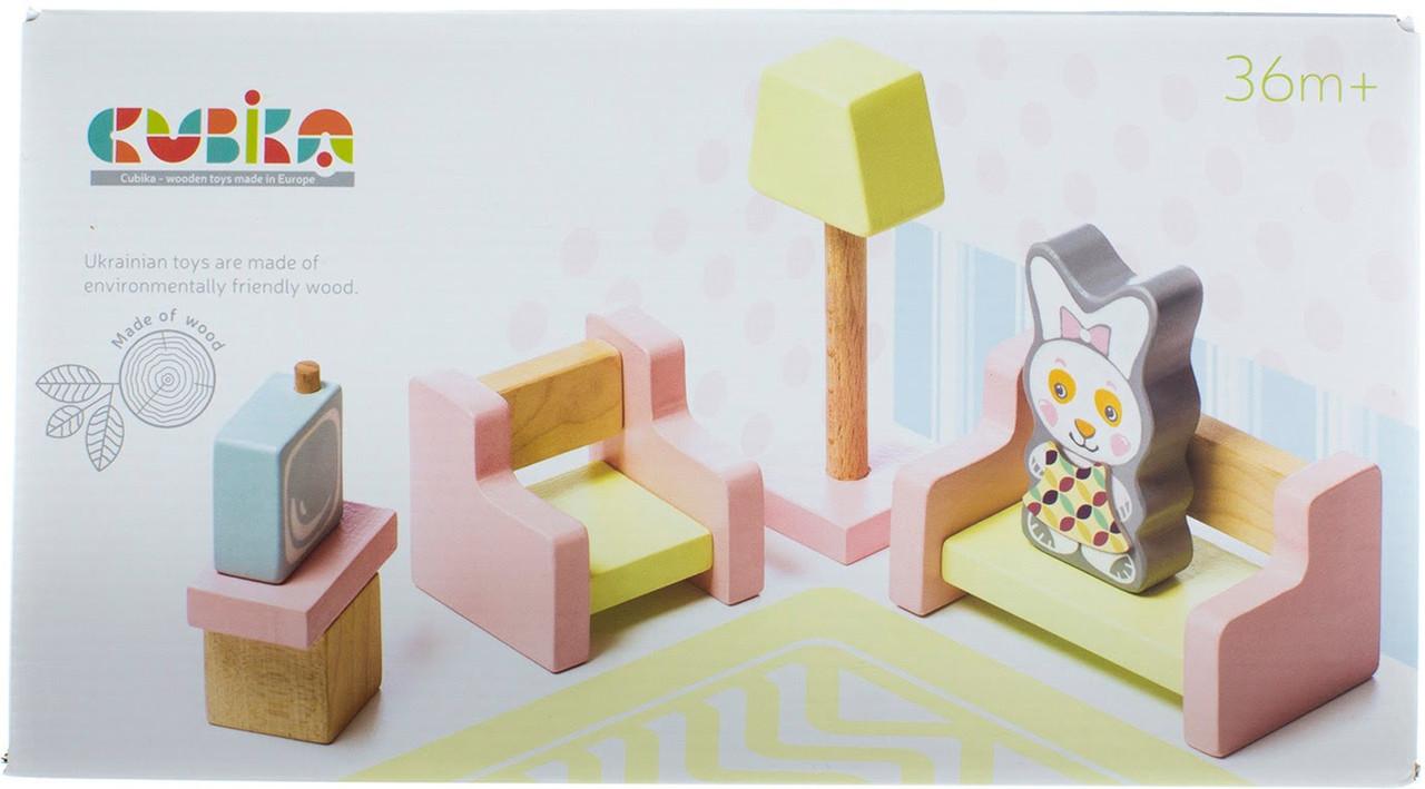 Іграшка дерев. Меблі 4 Cubika №15030