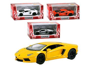 "Машина метал. ""Kinsmart"" Lamborghini Aventador LP 700-4,в кор-ці №KT-5355-W(24)(96)"