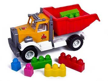 Вантажівка з конструктором №12-010-71/Кіндер-Вей/(3)