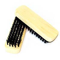 Оптом !!! Щетка (прямоугольнная) обувная из натурального волоса арт. S78