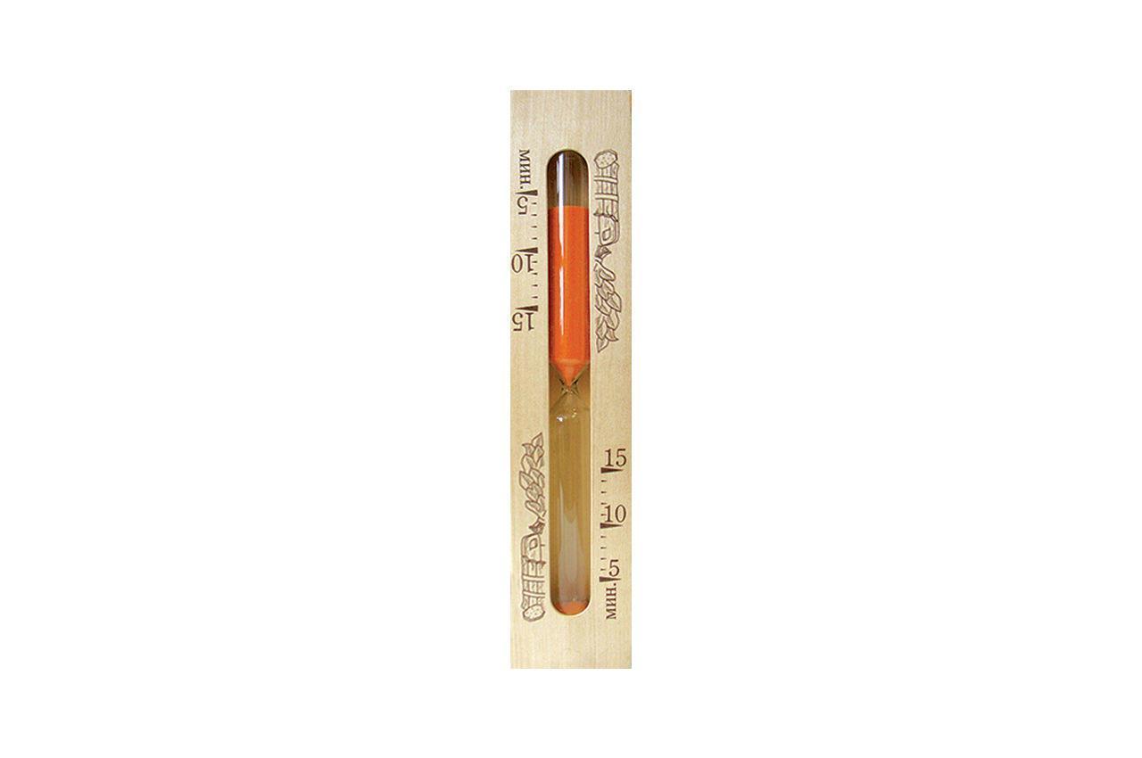 Часы песочные для сауны Стеклоприбор - 5 x 10 x 15 мин, 1-2 (300443)