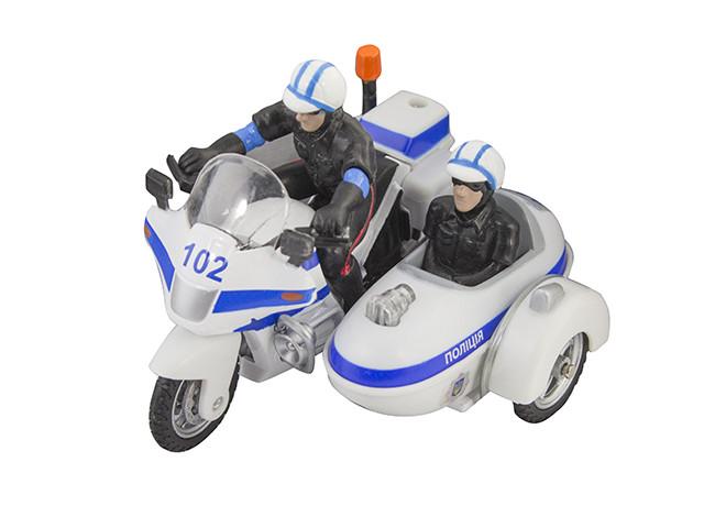 """Автомодель """"Technopark"""" Мотоцикл Охорона  світло,звук №CT1247/2US/КіддіСвіт/"""