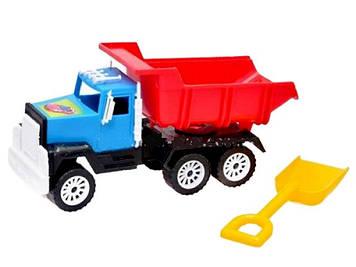 """Вантажівка """"МАС-02"""" середня (з лопатою) №05-401/Кіндер-Вей/(15)"""