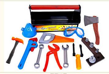 """Набір інструментів """"Кіндер-Вей"""" Юний столяр,23 предмет, у валізі №32-004(6)"""