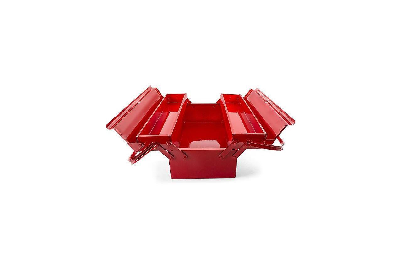 Ящик для инструмента Intertool - 450 мм x 3 секции, металлический HT-5043 (HT-5043)