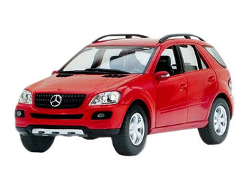 "Машина метал. ""Kinsmart"" Mercedes-Benz ML-Class,в кор-ці,16х8х7,5см №KT-5309-W(24)(96)"