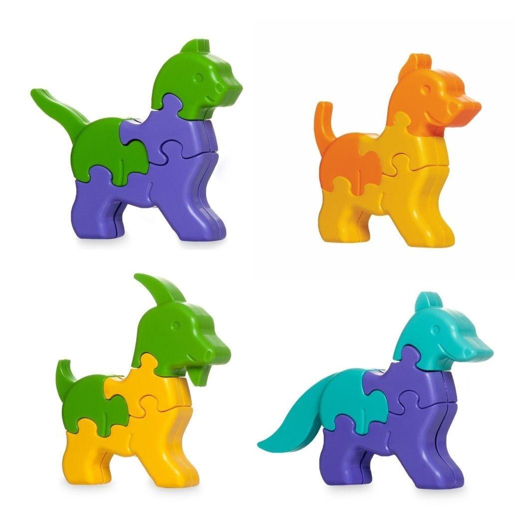 """Іграшка розвиваюча """"3D пазли-Тваринки"""" №39355/Тигрес/"""