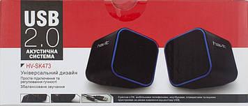 Колонка Havit HV-SK473 USB black+red №9365