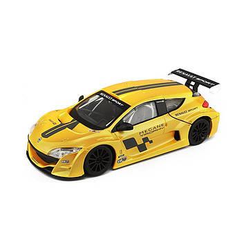 """Автомодель """"Bburago"""" Renault Megane Trophy (1:24) жовт. №18-22115/КіддіСвіт/(1)"""
