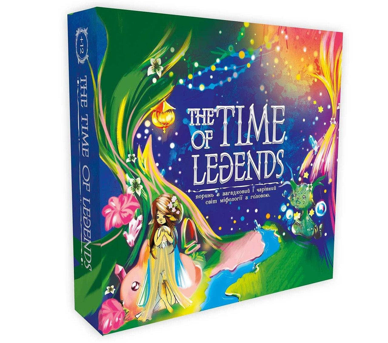 "Гра ""The time of Legends"" укр.,в кор-ці,30х30х7см №30267 ""Strateg"""