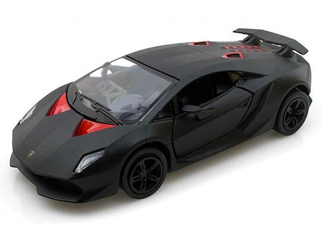 """Машина метал. """"Kinsmart"""" Lamborghini Sesto Elemento,в кор-ці,16х8х7,5см №KT-5359-W(24)(96)"""