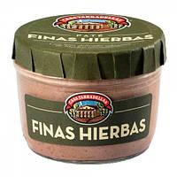 Паштет без глютена из свиной печени с травами эрвы Pate Pimienta  Casa Tarradellas 125г Испания