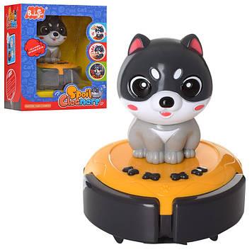 Собака сенсорна 12 см , на.акум.,їздить,звук,муз.,USB,в кор-ці,14,5х17х12см №88601(12)