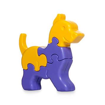 """Іграшка розвиваюча """"3D пазли Тваринки"""" №39356/Тигрес/"""