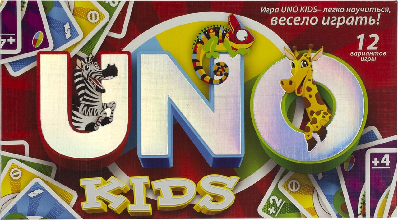 "Гра ""UNO Kids"" ""DankoToys"" №SPG11(12)"