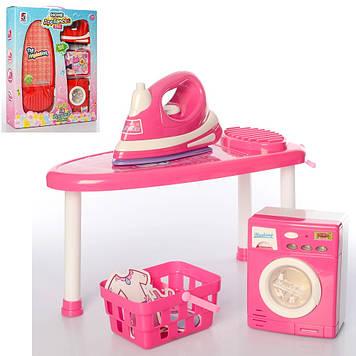 Побутова техніка на бат-ці,звук,світ.,пральна машина,праска,гладильна дошка №5S-414-412(9)