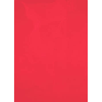 """Обкладинки для брошурування А4 """"Axent"""" пластикові 180мкм прозорі червоні №2720-06(50)"""