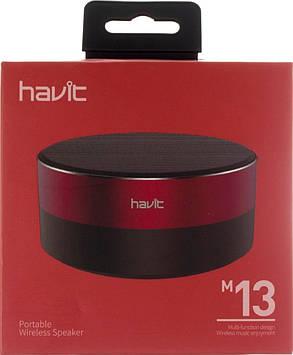 Колонка bluetooth Havit HV-M13 black/red