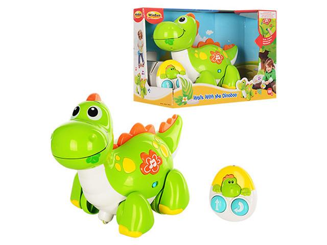 Динозавр на керув. їздить вперед,назад.муз.,світло,в кор-ці,33х23х17см №1141-NL(6)