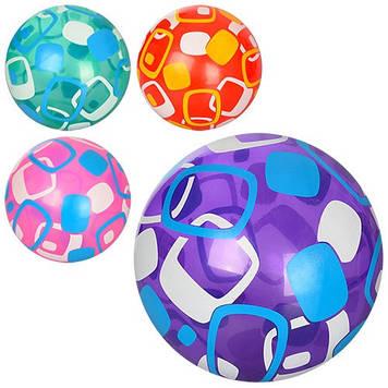 """М'яч гумовий 9"""" 60-65г,4 кольор. №MS0947-1(120)"""