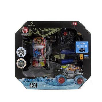 Машина на керув. 23см,надувний насос,USB заряд,4х4,в кор-ці,40х34,5х17,5см №518-2(2)