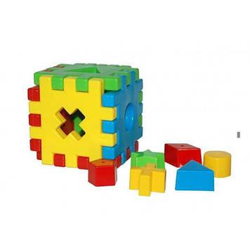 """Куб розвиваючий """"Чарівний куб"""" 12ел. в кор-ці №39376/Тигрес/"""