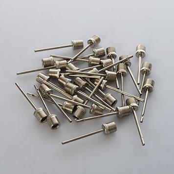 Голка для накачуваня м ячів метал.,у пакунку №MS0422(100)