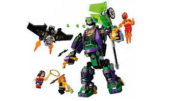 """Конструктор """"JVToy"""" """"Битва з роботом Лекса Лютора"""",серія Найкращі суперг.,406дет. №22002"""