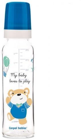 Пляшка скляна Sweet fun 240мл №42/601