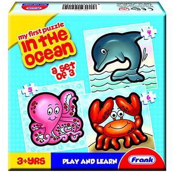 Пазл Frank В океані,3 пазла із 4,5,6 деталей №10215(36)