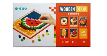 "Мозаїка дерев. ""Wooden pixel 6"" Cubika №14927"