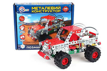 "Конструктор метал. ""Позашляховик"",""Технокомп"" №4913(10)"