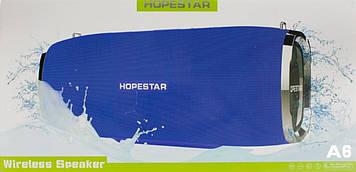 Колонка mini speaker Hopestar A6 bluetooth+power bank+mic blue