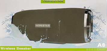 Колонка mini speaker Hopestar A6 bluetooth+power bank+mic grey