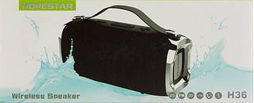 Колонка mini speaker Hopestar H36 bluetooth+power bank+mic black