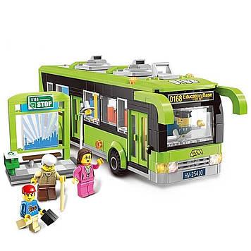 """Конструктор """"Brick"""" Автобус,420дет., в розбір. кор-ці,42х6х29см №1121(16)(24)"""