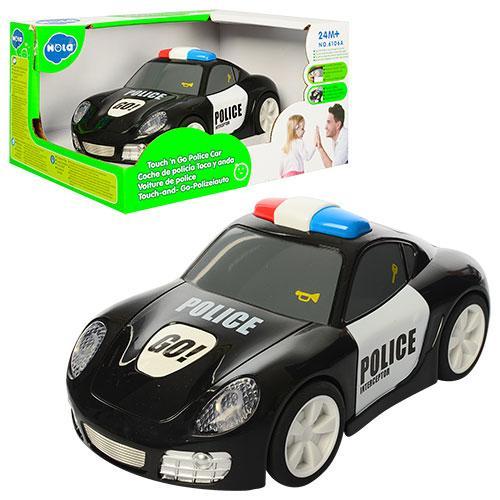 Машина на бат-ці,Поліція,16,5см,їздить,звук,світ.,в кор-ці,19,5х15,5х11см№6106A(18)