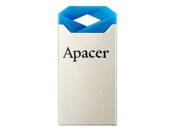 """Флеш-пам`ять 32GB """"Apacer"""" AH111 USB2.0 blue/crystal №8975"""